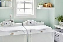 Wash, dry, fold, repeat. / Laundry Room