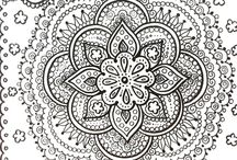 Mandalas coloring pages - Mándalas para colorear