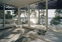 Interior Views / Interior architecture with amazing views.