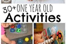 Taaperot: puuhaa / Pienille lapsille sopivia aktiviteetteja.  Toddler activities