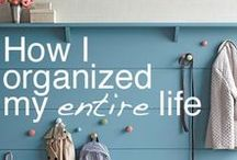 Organisation Ideas / I love to be organised and get very stressed out when i'm not organised. So I am always looking for ideas on how to be more organised