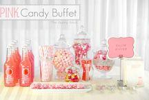 CANDY BUFFET WEDDING TABLE / Candy Bars candy buffet #weddingcandybuffet and desserts