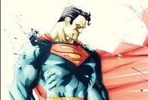 Superheroes VS Villains / #elements #justiceleague #avengers #dc #marvel #heroes #villains #mutants #magic #illusion #superpower  / by Irwan Tanuwijaya