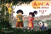 Amita of the Jungle / It is an animated TV series for children between 4 and 7 years old (52x7') This series is about the adventures of Amita, a child who lives in a magical world in which men and animals are still able to talk to one another.