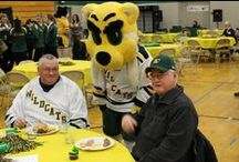 Wildcat Night Across the Country / Once a year Wildcats across the nation gather together to cheer and watch the live broadcast of the NMU hockey game. Want to participate in the next event? First, find a local bar or restaurant that gets Fox Sports and will televise the game for you. Then let us know (alumni@nmu.edu or 906-227-2610) so we can help spread the word to NMU alumni in your area and send you a Wildcat Party Pack. / by NMU Alumni Association