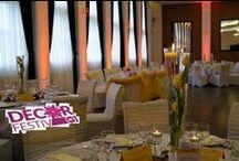 Decoratiuni saloane de nunti / Decoratiuni nunti Bacau