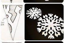 Lumihiutalemalleja