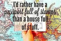 Travel Quotes / Travel quotes and inspiration to make you pack your bags.