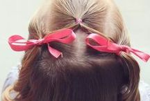 Little Girls Hairstyles / I have two little girls, and always looking for new girls hairstyles for them.