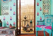 Indian inspired home decor.
