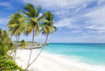 Beautiful Beaches / Barbados is an exotic island in the Caribbean and home to some of the most stunning beaches in the World. Famous for Caribbean sunshine, emerald clear sea and pure white sand. Feel inspired and wanderlust as you take a look at some of the picturesque beaches on the island.
