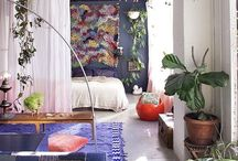 Studio/small apartment living / Making smart and stylish use of small spaces.