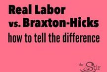It's Called LABOR for a reason! / Getting ready for childbirth