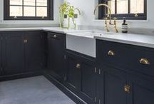 Kitchen Ideas / Anything kitchen! The hub of the home needs a lot of thought, so take your time and pick out what you need