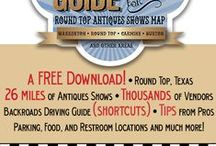 Round Top Antiques Show Tips / Resources and information for navigating the Round Top Antiques Show.