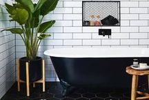 Bathroom ideas / All things bathrooms! Ideas and helpful hints to create your perfect bathroom