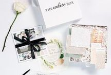 """Inside The White Box / A sneak peek inside what you can expect in your personalized Wedding Planner """"in a box."""""""