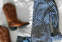 Things to Wear to Round Top / Ideas for outfits for Round Top Antiques Shows.