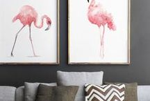 Flamingo Home Interiors / Looking for Flamingo home interior ideas. This bright colourful style can be twisted to suit your style If you're looking for bright interiors, calming tropical interiors or fun interiors then have a look at Flamingo Interiors