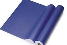 Blue gift packaging