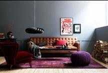 INTERIOR grey + colour