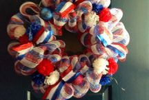 Patriotic Delights / Ideas to decorate for 4th of July, Memorial Day and Veteran Day. / by TGA
