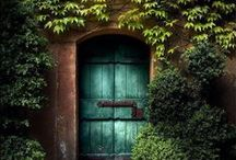 Doorways / Interesting doors, latches and bits and pieces
