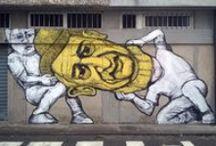 Collettivo FX / I muri dipinti dal Collettivo Fx
