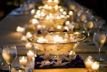 Candlelight Dinner Outdoor Party Planning / Craft a romantic eve outdoors with a touch of class, creativity and your own personal style.