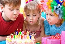 Kids' Birthdays Outdoor Party Planning / Take the party outside with these kid-friendly games, crafts and treats. / by Lloyd Flanders