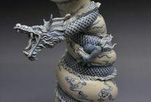 Lohikäärmeitä / erilaisia lohikäärmeitä, koska lohikäärmeet on kivoja...