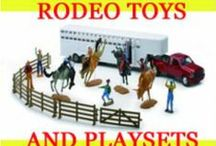 Rodeo Toys / Rodeo Toys, Rodeo Play Sets, PBR Action Figure Toys, Barrel Racer Toys, Calf Roping Toys, Bull Rider Toys, Team Roping Toys. Rodeo Arena Play Sets, Horse Toys, Truck And Trailer Toys, Horse Trailer Play Set. Breyer Horses And Trailers. Breyer Collectible Bulls. Stick Horses.