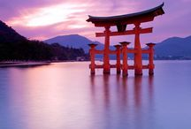 The beautiful country Japan