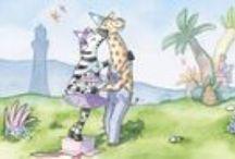 Alles over Giraf / Giraf woont met zijn drie vrienden Krook, Zebra en Olifant op een heerlijk tropisch eiland. Samen beleven ze kleine, vrolijke avonturen. Verschenen tot nu toe zijn: Giraf gaat slapen, Giraf leert fietsen, Giraf viert feest en Giraf en de krookeritis. De boeken van Giraf zijn geschreven en geïllustreerd door Marie-Louise en Mark Sekrève. Hou ons in de smiezen!
