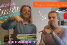 De filmpjes van marie-louise en mark sekrève / elke vrijdag is het Video Friday bij ons. dan maken we een filmpje over alles wat we doen. wij zijn marie-louise en mark sekrève, we schilderen, schrijven, illustreren en rennen achter onze kinderen aan. hou ons in de smiezen!