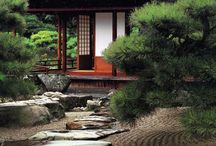 Japanese houses / Ancient Japanese architecture.
