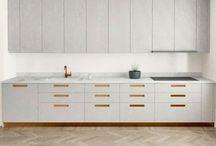 Kök / Inspiration till nya köket - marmor, grått & koppar