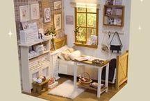 Miniature Rooms / (Nerea Pozo)