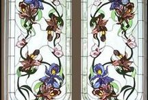 stained glass / by Tina du Toit