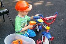 Three High Chairs Summer Activities / Summer fun for preschoolers
