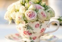Tea Party Time  / Ideas for hosting chic tea parties  / by Tantalizing Tea