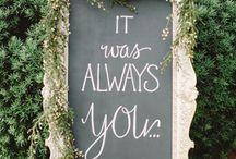 i c h o o s e you / Wedding day