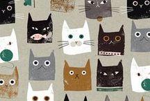 CATS / Cat paintings, cat designs, cat decoration, cat itself :)