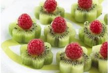 Food Art / Great ideas to use when entertaining!