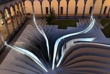Zaha Hadid, 1950 - 2016 / Zaha Hadid was born in Baghdad, Iraq. She studied mathematics at the America University of Beirut. Moved to London in 1972 to study architecture at the Architectural Association. She is currently professor at the University of Applied arts in Vienna. Her work experiments with new spatial concepts encompassing all fields of design from the urban scale to interiors and furniture. She was the first woman that received the Pritzker Prize. She also received the Stirling Prize in 2010 and 2011.