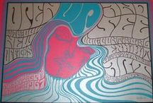 "Wes Wilson, 1937 / Robert Wesley Wilson was born in Sacramento, California. He is one of the best known designers of psychedelic posters, mainly for Bill Graham of the Fillmore in San Francisco. His posters, widely experimental, inspired largely by the lettering of Alfred Roller - Viennese Secessionist. Around 1966 he invented a ""psychedelic"" font that made the letters look like they were moving or melting.  In his use of color he was inspired by the lights of concerts´ shows."