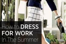 Office Dress Decoded / What to wear to the office, girls!
