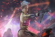 Sci-Fi Art / This the best sci-if art I can dig up on the web.  Check out my science fiction @ meuploads.com