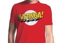Big Bang Theory / Official T-shirts from The Big Bang Theory. Bazinga!
