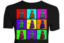 Doctor Who / Official T-shirts from the BBC's Doctor Who. Daleks, weeping angels, cybermen and more!